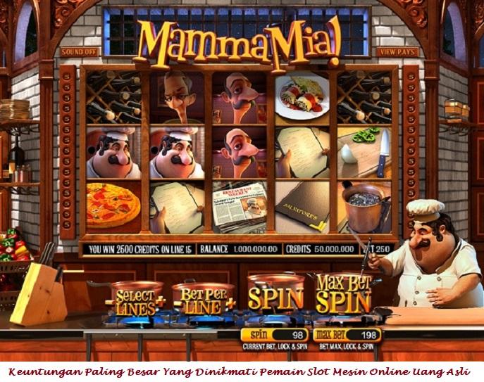 Keuntungan Paling Besar Yang Dinikmati Pemain Slot Mesin Online Uang Asli